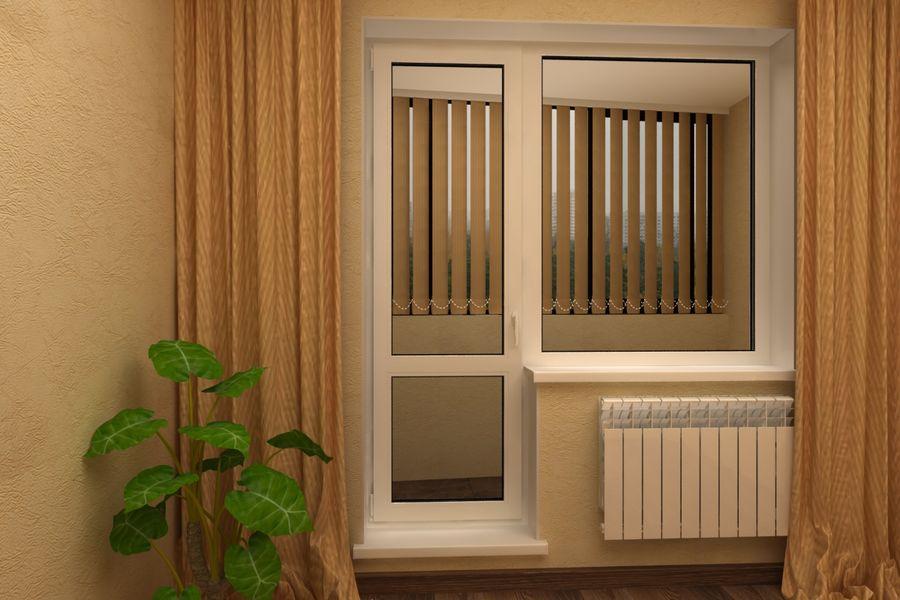 Составляющие пластиковой балконной двери