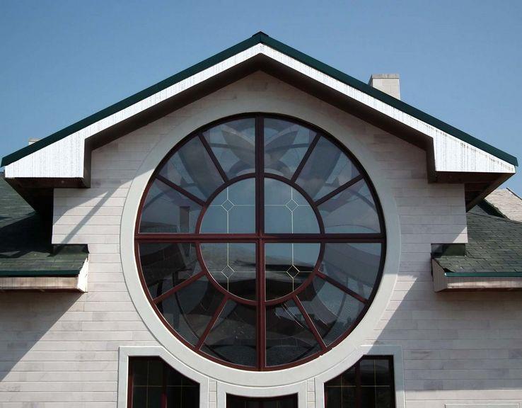 Круглое пвх окно