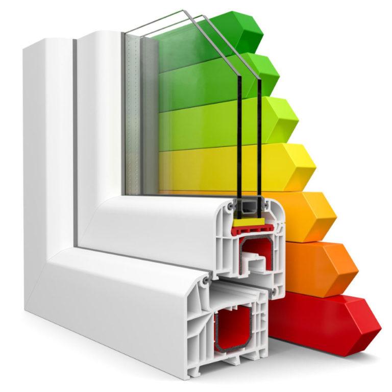 Преимущества цветных окон