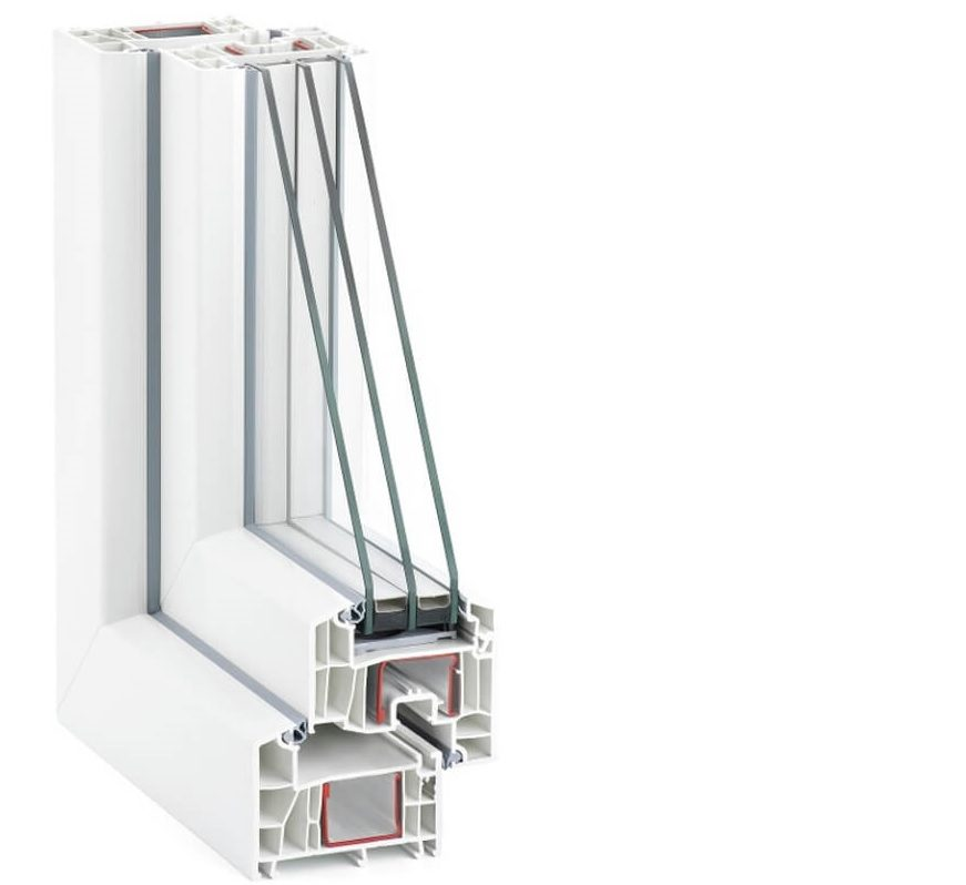 Окна Rehau Intelio 80