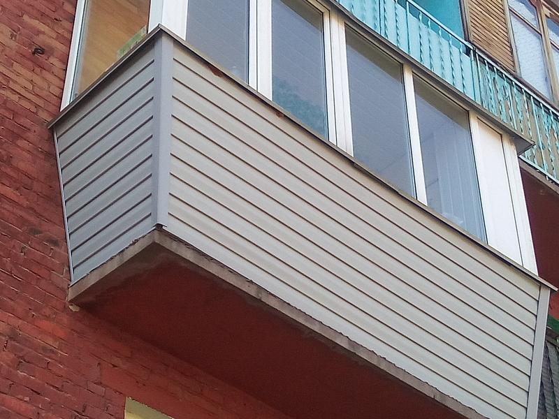 Остекления балконов в Митино