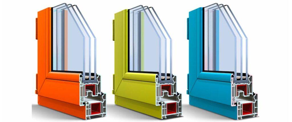 Цветные окрашенные окна