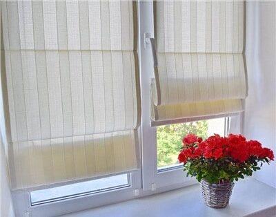 Заказать римские шторы на окна