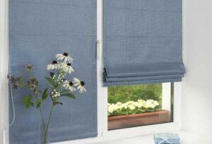 Римские шторы на пластиковые окна для детской