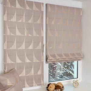 Выбор римской шторы на пвх окно