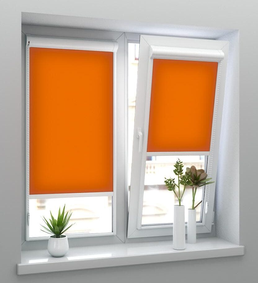 Готовые рулонные шторы на окна