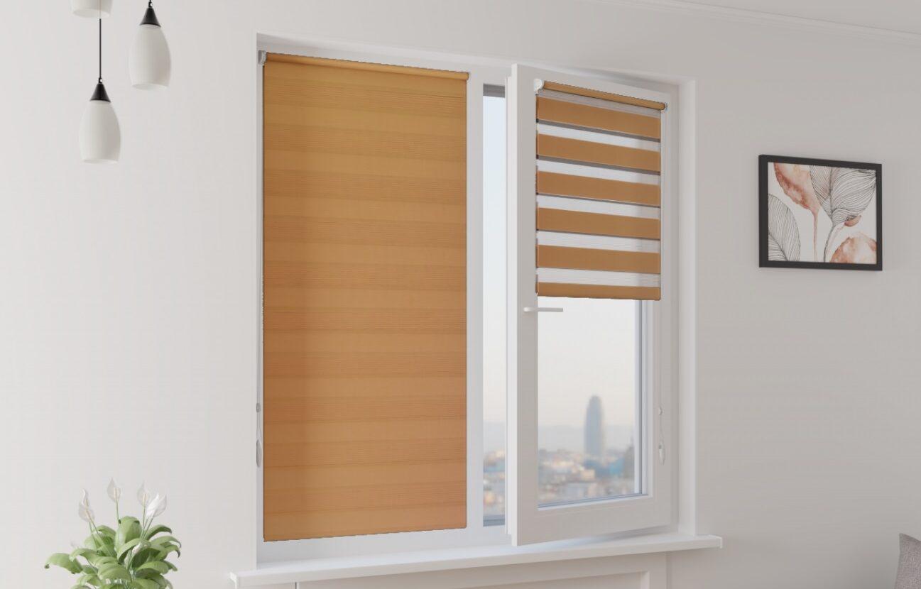 Рулонные шторы на пвх окна